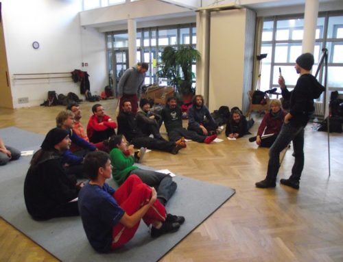 Jugglers' workshop – Berlin – February 2012