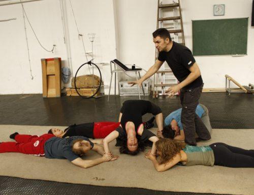 Theatre in circus – Budapest – April 2011