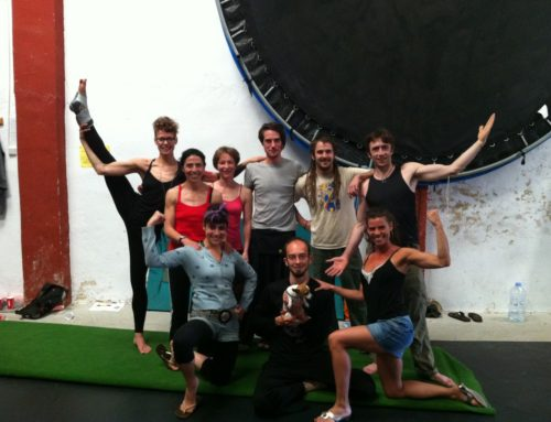 Acrobatic workshop – Valencia – May 2011