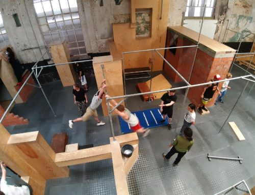 Parkour and Physical Training. Circus in Beweging. April 2019