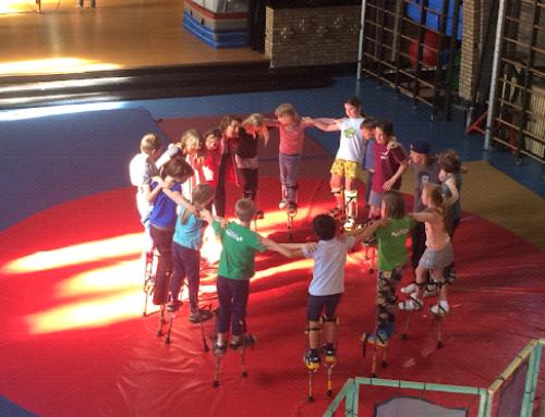 Joint Staff Training Exchange in Cirkus in Beweging. Leuven. May 2019